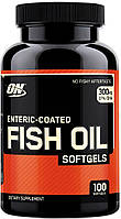 Fish Oil Softgels Optimum Nutrition (100 капс.)