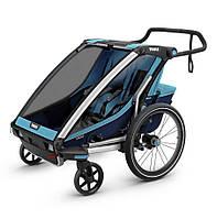 Детская коляска Thule Chariot Cross 2 Blue-Poseidon (синий)