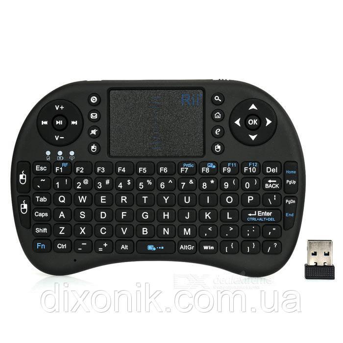 Беспроводная мини клавиатура RT-MWK08 (Rii i8) для ПК и Android Невероятное снижение цены!