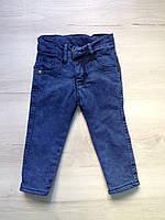 Джинсы синие теплые на мальчика 1 год