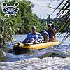 Байдарка надувний Човен ЛБ-380У одномісна Базова Турист для гладкої води, фото 6