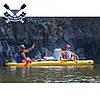 Двухместная байдарка надувная Ладья ЛБ-450УВ Базовая Турист надувной каяк Ладья  байдарка туристическая, фото 8