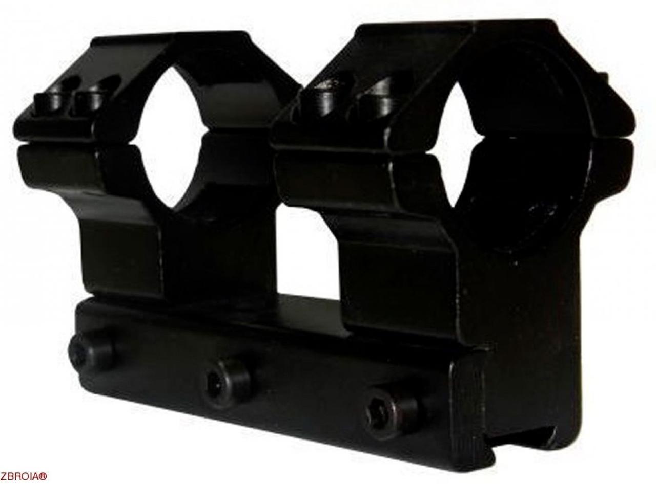 Крепление-монолит КМ-01 высокое, 4 болта (25,4 мм)