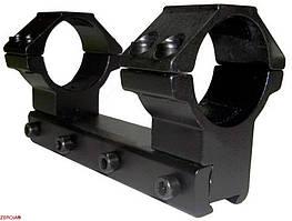 Крепление-монолит КМ-04 высокое, 4 болта (30 мм)