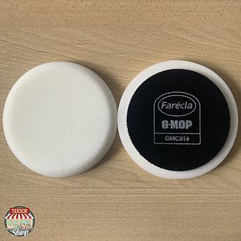 """Полірувальний круг на липучці жорсткий Farecla G-Mop 6"""" High Cut Foam Білий"""