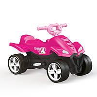 Квадроцикл на педалях DOLU Розовий 2565, КОД: 1805819