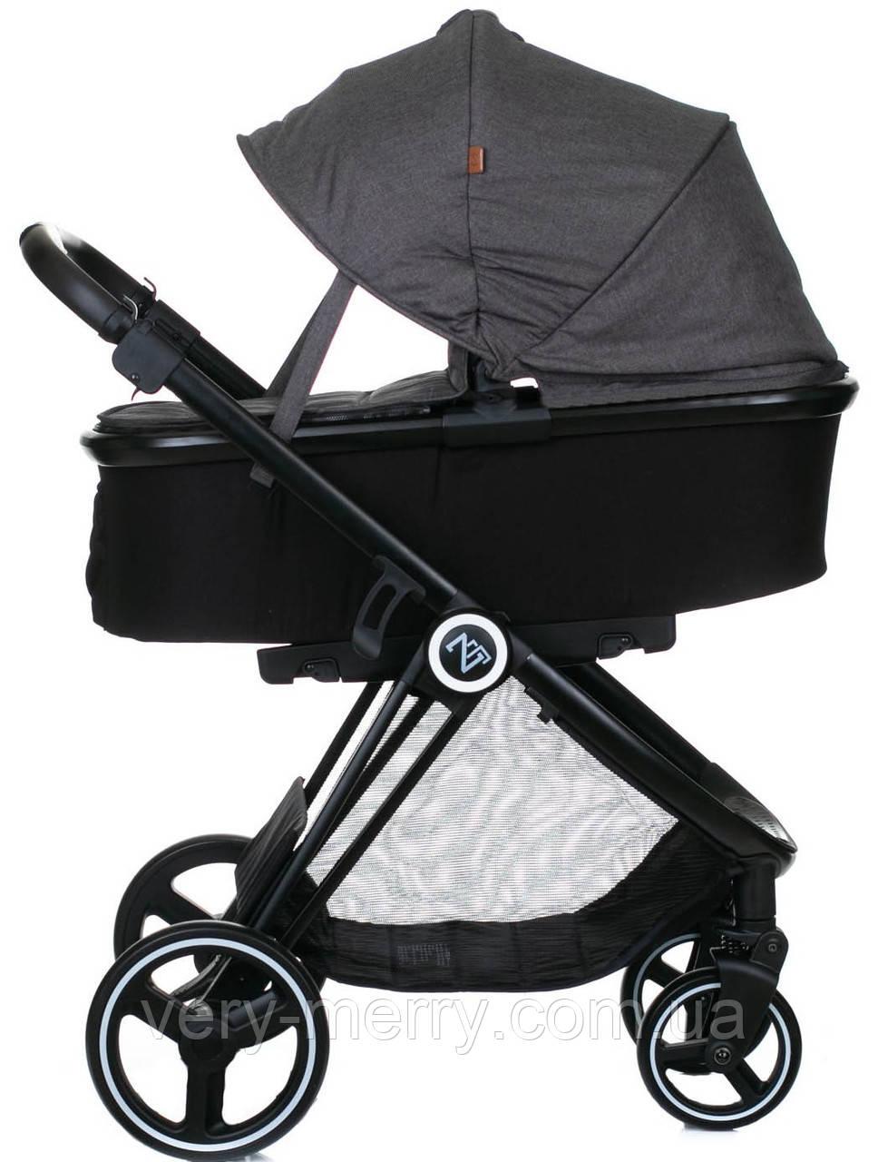 Універсальна коляска 2 в 1 Babyzz B102 (сірий колір)