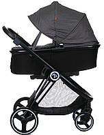 Универсальная коляска 2 в 1 Babyzz B102 (серый цвет)