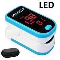 Пульсоксиметр для домашнего использования,светодиодный дисплей/Гарантия
