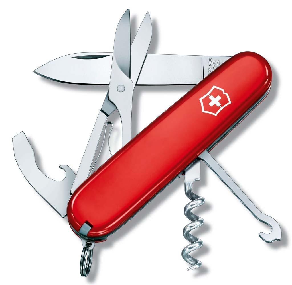 1.3405 Нож Victorinox Compact Red