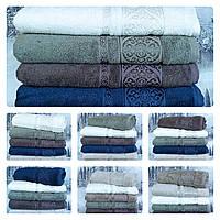 Турецкие махровые полотенца для лица 50*90 Philippus Miss Bamboo