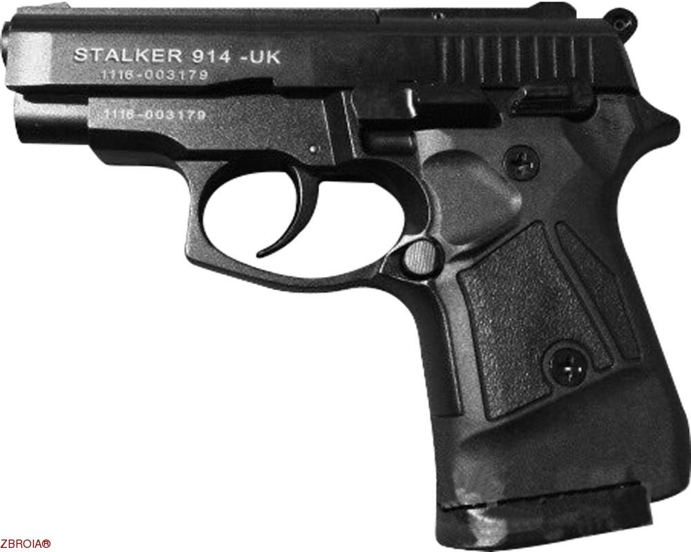 Шумовой пистолет Stalker Mod. 914-UK Black