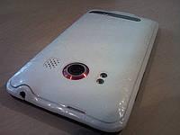 Декоративная защитная пленка для HTC EVO 4G аллигатор белый, фото 1