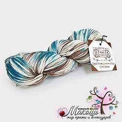 Хлопковый шнур Maccaroni Cotton Filled Hand Dyed 3 мм, №23003