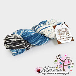 Хлопковый шнур Maccaroni Cotton Filled Hand Dyed 3 мм, №23008