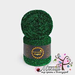 Фантазийный шнур Maccaroni Confetti Конфетти, №2201, изумрудный