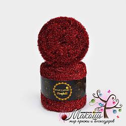 Фантазийный шнур Maccaroni Confetti Конфетти, №2202, красный