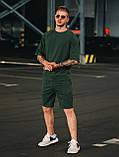 Мужской летний комплект OverSize Khaki (шорты и футболка), летний костюм оверсайз, фото 3