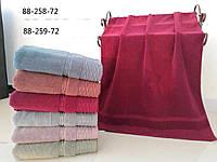 Банные полотенца полосочка упаковка 6 шт.