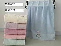 Банные полотенца нежность упаковка 6 шт.