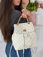 Рюкзак экокожа,чёрный/белый/розовый