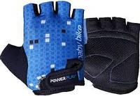 Рукавички дитячі для фітнесу, велоперчатки Power Play без пальців р. 2XS