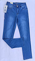 Женские стрейчевые джинсы Sunbird большого размера/голубые джинсы с прямой штаниной/джинсы с высокой посадкой