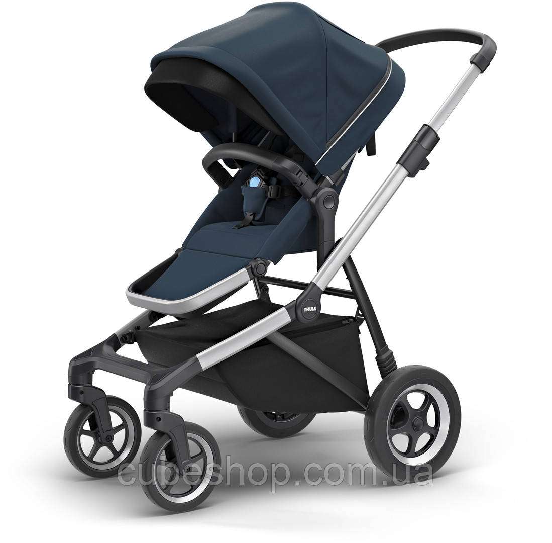 Детская коляска Thule Sleek Navy Blue (темно-синий)