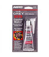 ABRO Герметик прокладки (9-AB-42) GREY (42гр) original (9-AB-42)