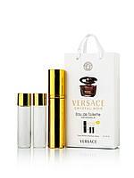 Мини-парфюм Versace Crystal Noir (Версаче Кристал Ноир), 3*15 мл