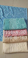 Банные полотенца лен махра упаковка 6 шт.