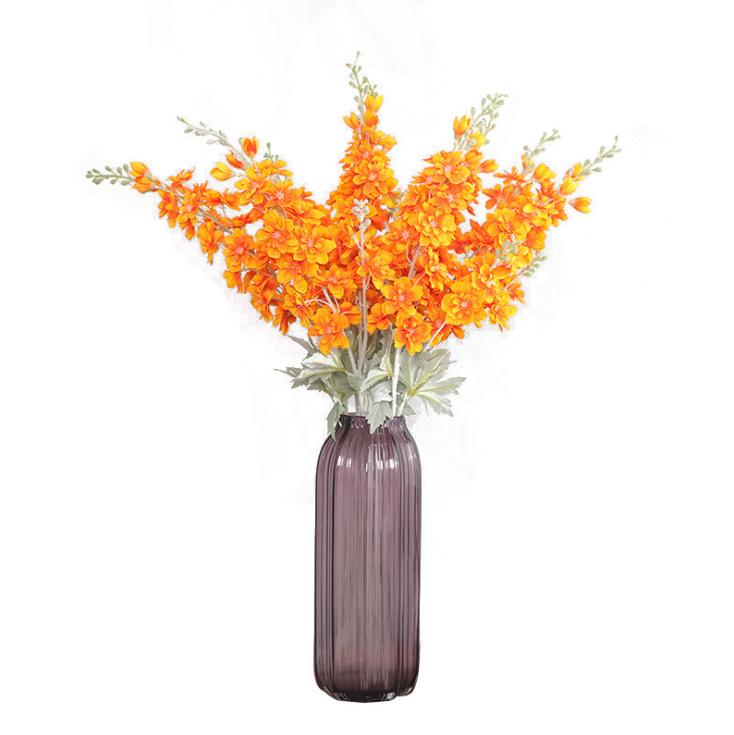 Цветы Дельфиниум  Оранж (60см)
