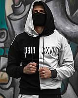 Весенний спортивный костюм Sad & Smile │ Черно-белый, фото 1
