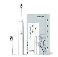Электрическая звуковая зубная щетка Seago Sonic SG972-D, White (K1010050249), фото 2