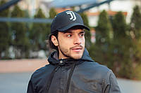 Кепка бейсболка коттон футбол Juventus Чёрный, фото 1