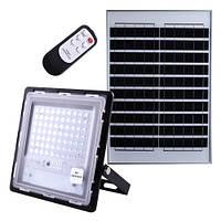 Наружный прожектор Adenki JD-770 70W на солнечной батарее с таймером и датчиком света + пульт ДУ (30-7430)
