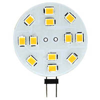 Лампа светодиодная для мебельных светильников Feron LB-17 12LED G4 3w 12v