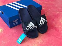 Сланцы/шлепки/шлепанцы/Adidas/ адидас/синие