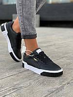 Puma Cali черние женские кросовки, фото 1