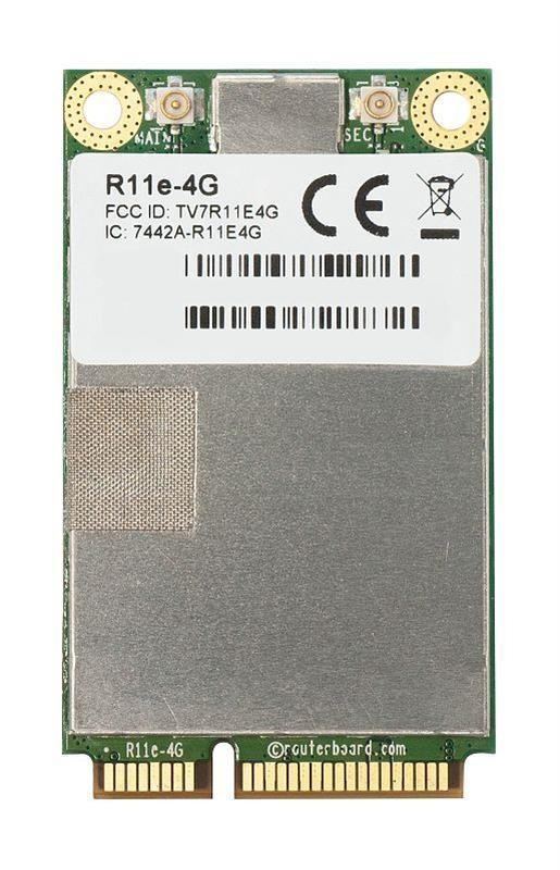 Плата MikroTik R11E-4G