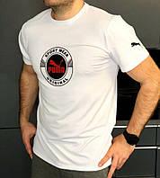Мужская футболка Puma белая XL
