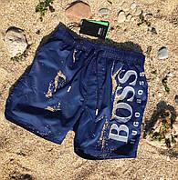 Плавательные шорты Hugo Boss blue, фото 1