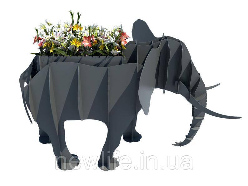 """Мангалы в виде животных """"Слон"""""""