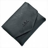 Женский мини кошелёк Weatro Чёрный 9009S-black, фото 1