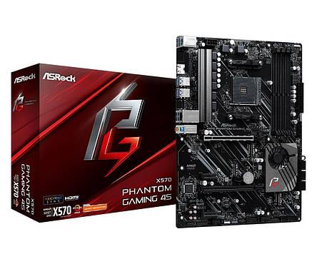 Материнська плата ASRock X570 Phantom Gaming 4S Socket AM4, фото 2
