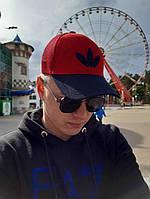 Кепка бейсболка тракер Adidas Originals Красно-синий, фото 1