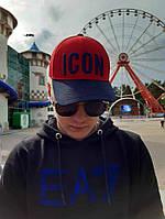 Кепка бейсболка тракер Icon Красно-синий