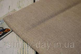 Ткань для вышивки, 3419/11 Aida Zweigart 18 ct. - цвет сырого льна с перламутровым люрексом (50х50см)