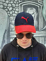 Кепка бейсболка тракер Puma Сине-красный, фото 1