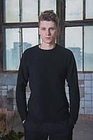 Флисовый свитшот Intruder черный., фото 1
